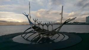 Iceland Long Boat